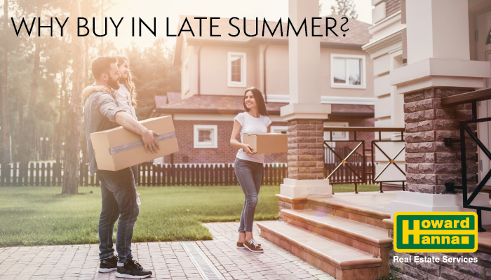 Why Late Summer May Be the Best Time to Buy a House